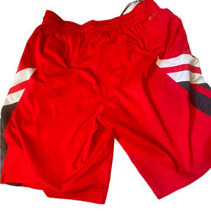 Nike Dri Fit Men's Red Basketball Athletic Shorts